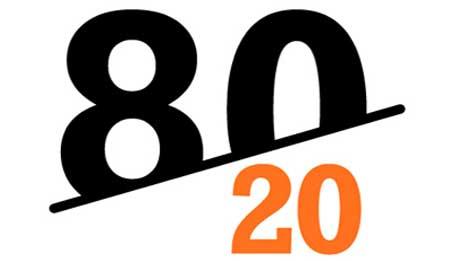 در مورد قانون کاربردی 20-80 چه می دانید؟