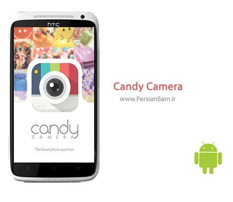 دانلود نرم افزار اندروید مدیریت دوربین Candy Camera 2.42