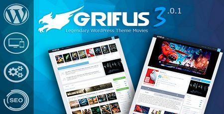 دانلود قالب وردپرسی فیلم و سریال Grifus نسخه 3.0.1
