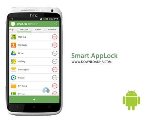دانلود نرم افزار اندروید قفل برنامه ها Smart AppLock 6.6.4