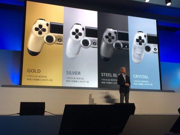 رنگهای زیبا و جدید در کنترلهای PlayStation 4