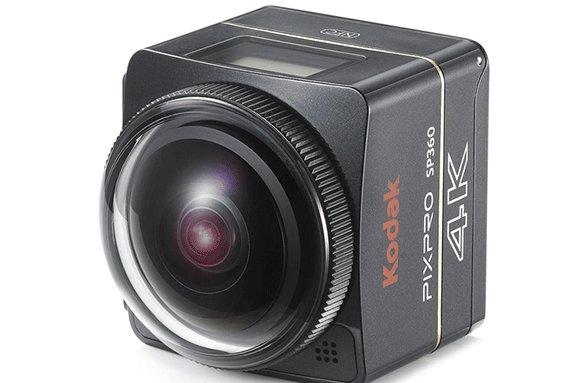 ساخت دوربین مخصوص ویدیوهای 360 درجه کداک